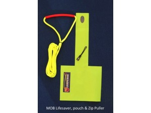 MOB Lifesaver, Pouch and Zip Puller