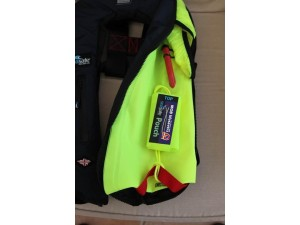 Pouch with MOB Lifesavers logo